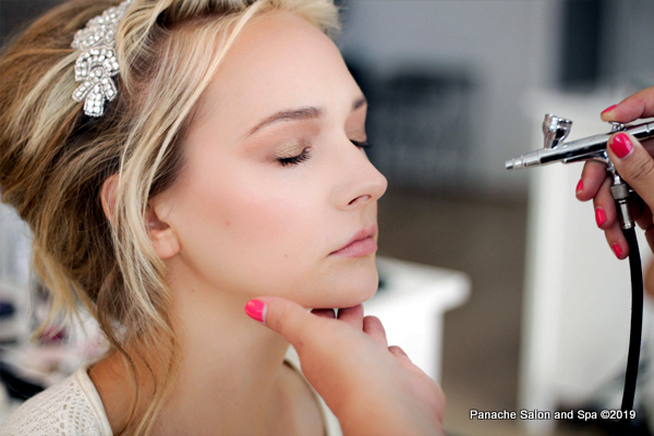 Professional Air Brush Makeup Panache Salon