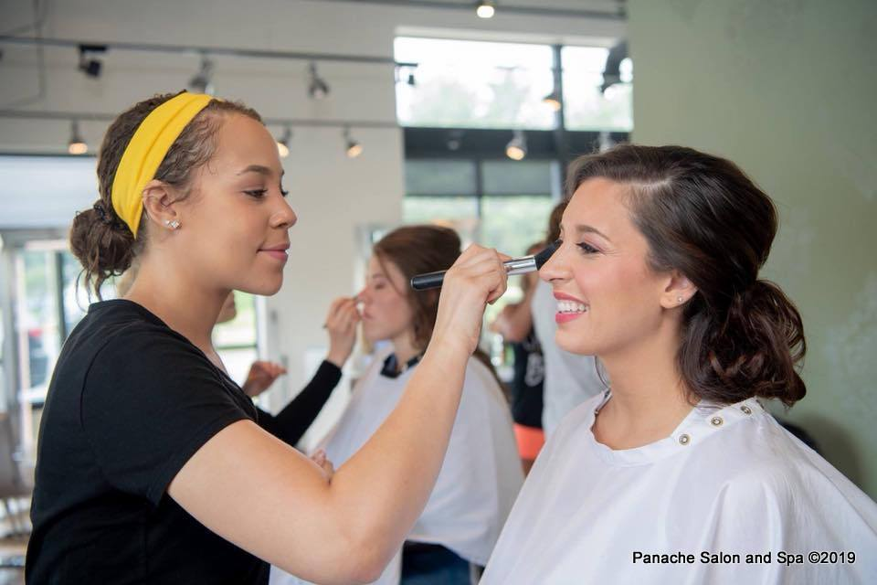 Professional Makeup Application Services in Erie, PA at Panache Salon and Spa