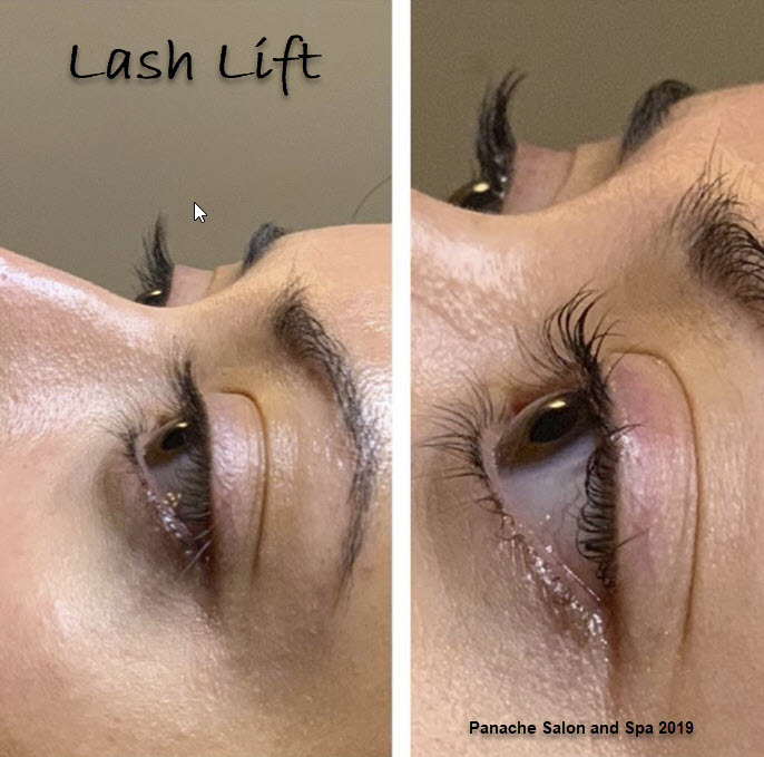 Eyelash Lifting at Panache Salon in Erie, PA