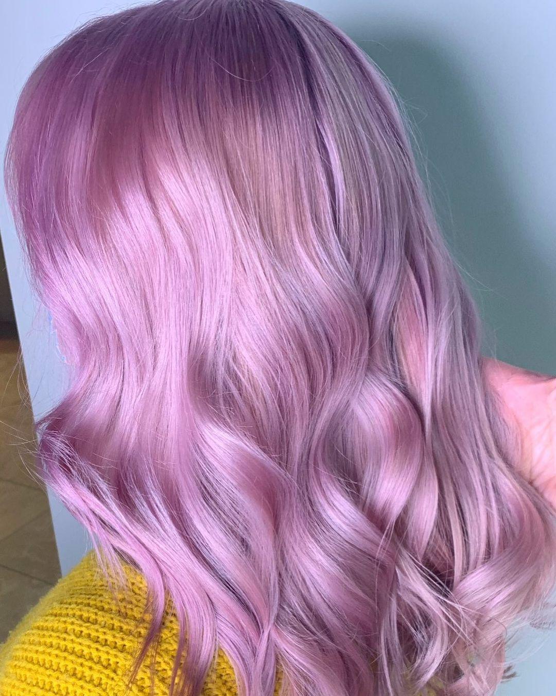 Vibrant hair color by Panache Salon's talent team of stylists