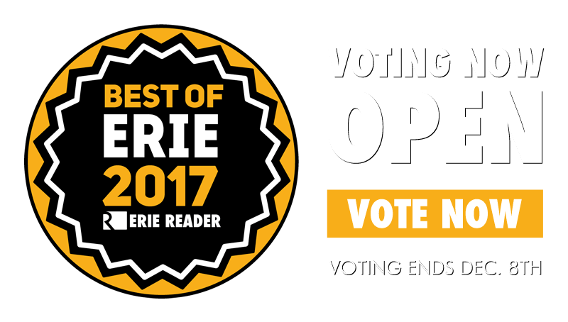 Vote for Erie Reader's Best of Erie 2017!