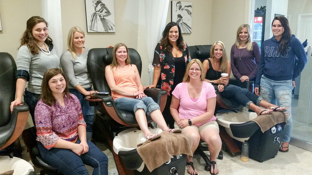 Spa Parties in Erie, PA | Panache Salon & Spa